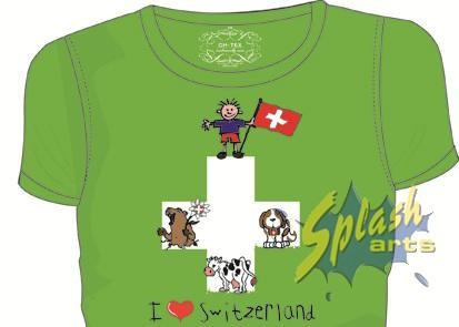 Swiss Flag green 8