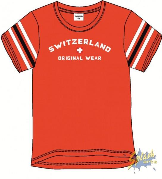 Kids Print Original Wear red -8Y