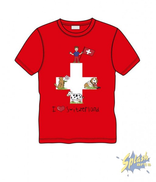 Swiss Flag red 2