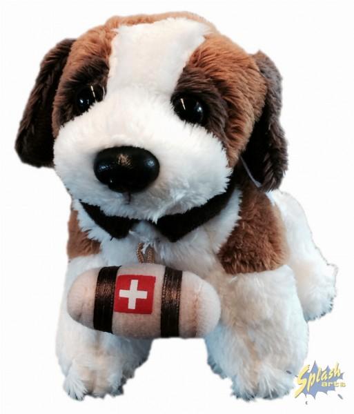 St. Bernard plush doll