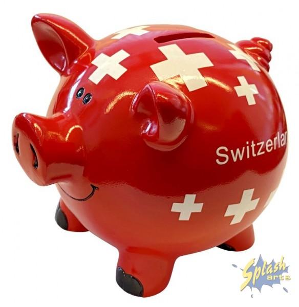 CH-Sparschwein gross 20cm