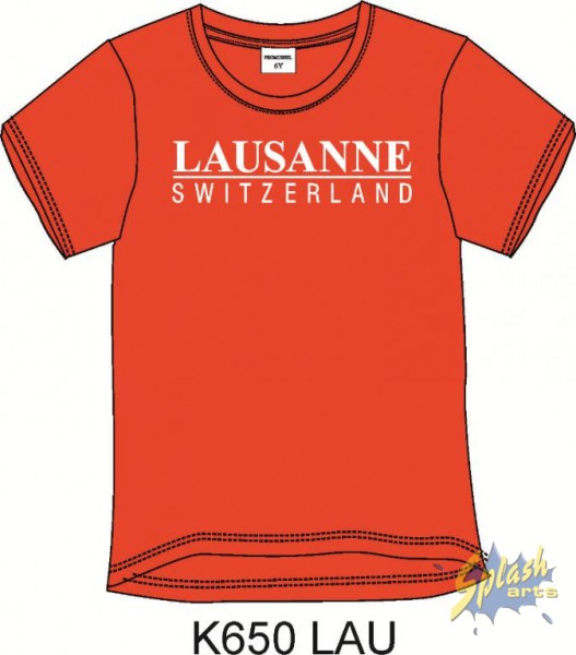 Kids red Lausanne-8Y