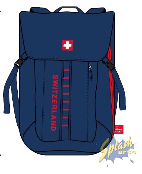 sac à dos switzerland bleu