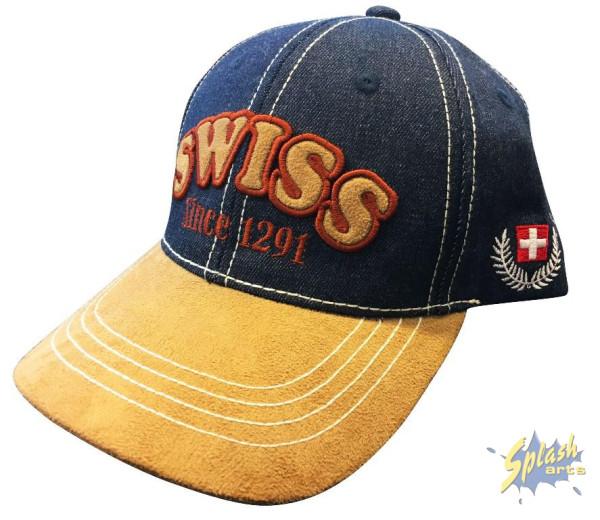 Swiss jeans/leder