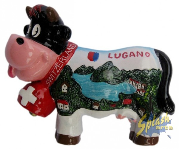 aimant Funny cow Lugano