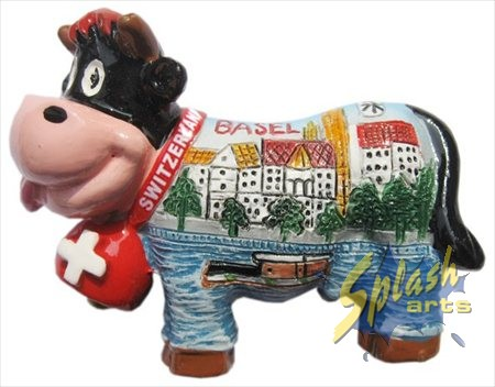 Aimant Funny cow Basel