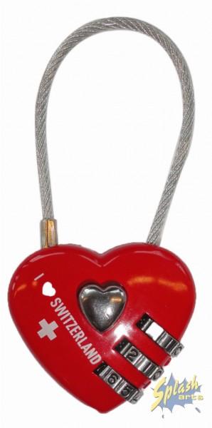 cadenas coeur suisse à combinaison