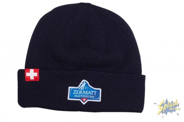 chapeau bleu Matterhorn