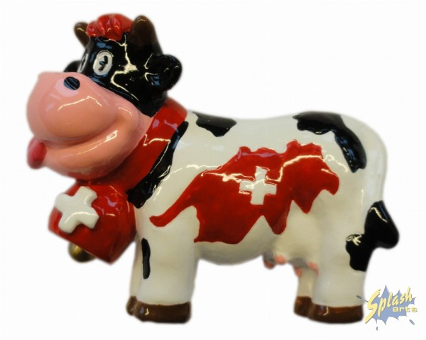 Funny cow Switzerland magnet