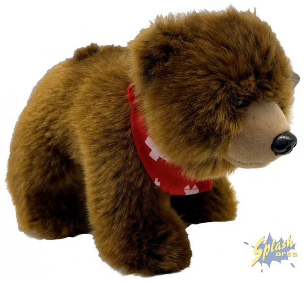 Swiss plush bear (18cm)