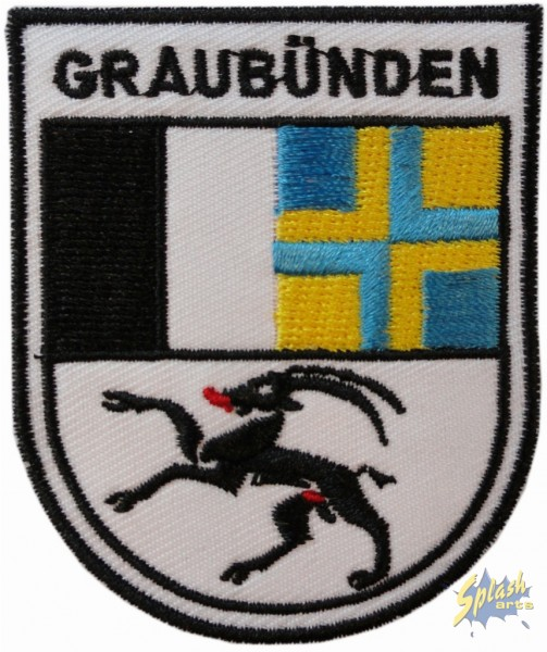 Aufnäher Graubünden