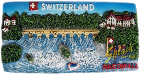 Rheinfall Panorama Magnet