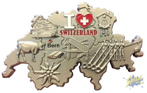 Switzerland magnet metall