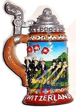 Swiss alphorn mug