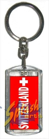 SWITZERLAND blinkender Key ring