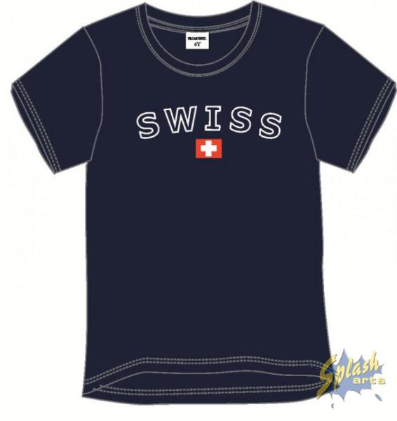 Kids Swiss bleu -12Y