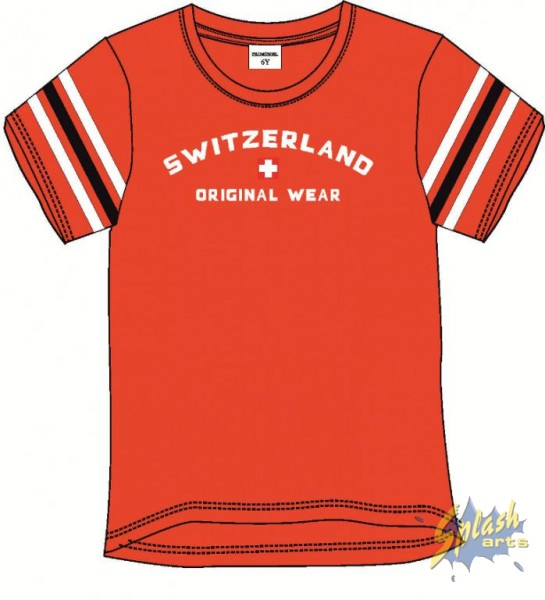 Kids Print Original Wear rouge -12Y