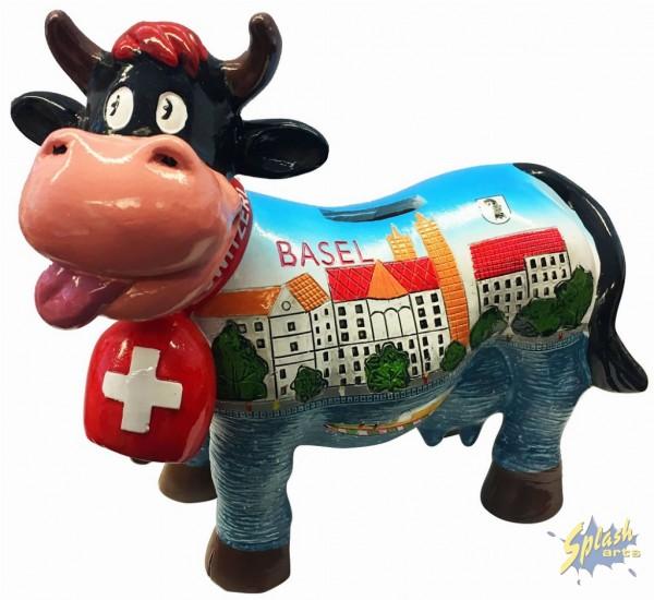 tirelire Funny cow moyenne basel