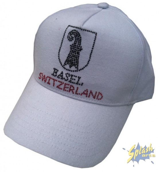 Cap Basel Wappen weiss