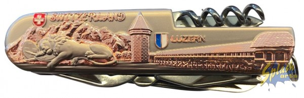 couteau Lucern bronce