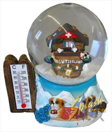 Small snowball cuckoo clock