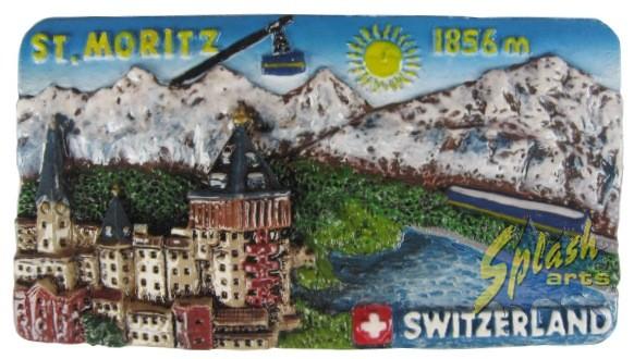 Aimant St. Moritz panorama