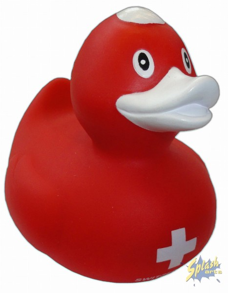 rubber duck swiss cross