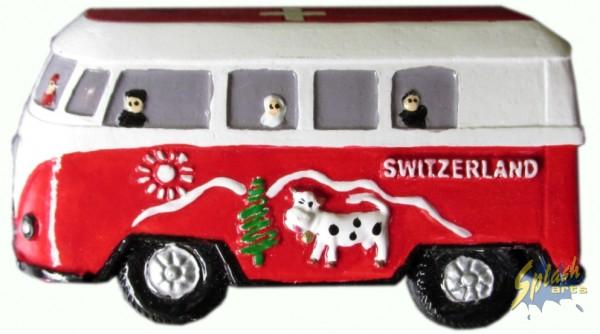 Switzerland bus magnet