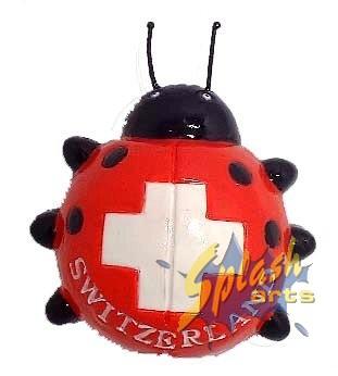 aimant coccinelle suisse