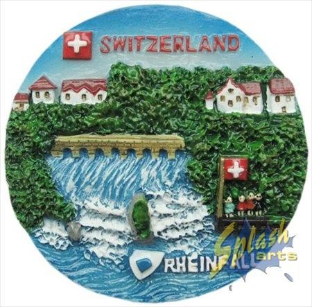 Round Rheinfall magnet