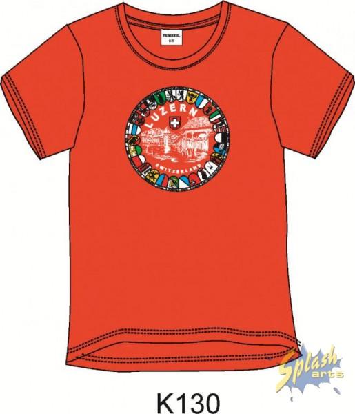 T-Shirt Kap.Br. Wap 10 rouge -4Y