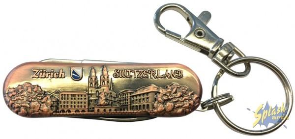 Sackmesser Zürich bronze klein