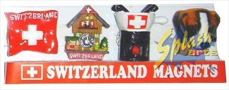 mini set aimant drapeau/ fondue