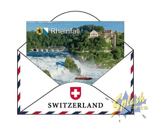Rheinfall Kuvert Magnet