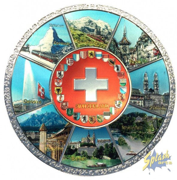 Platte Switzerland Metall
