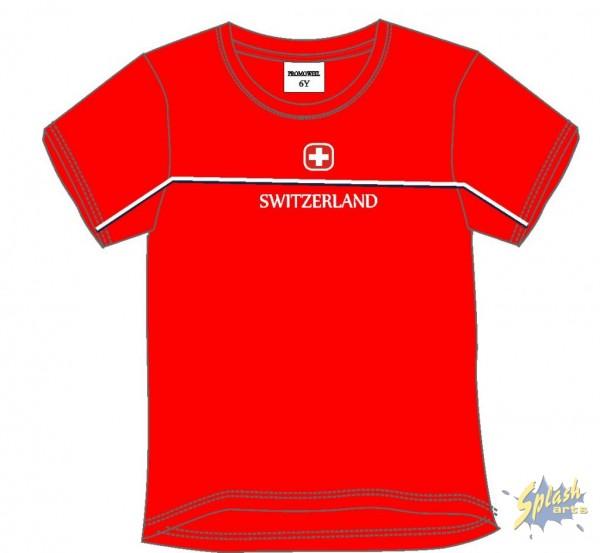 Kids Switzerland red -4Y
