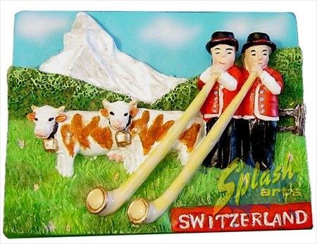 Aimant cors des alpes suisses