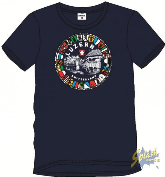 T-Shirt Kap.Br. Wap 20 Marine-L