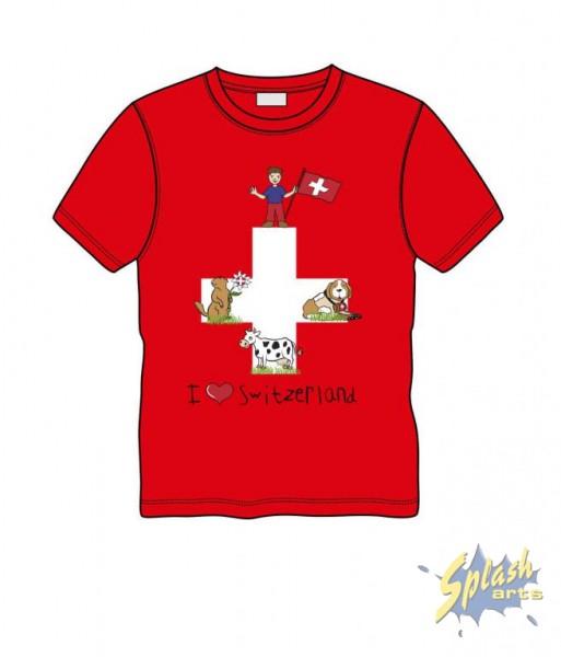 Swiss Flag red 8