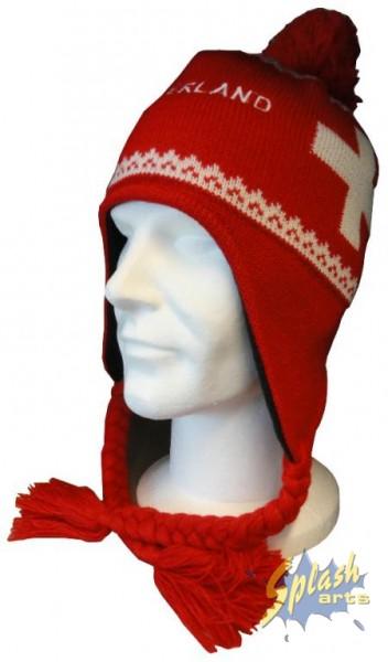 Wintermütze red