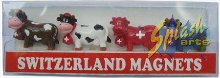 Mini magnetic set cows