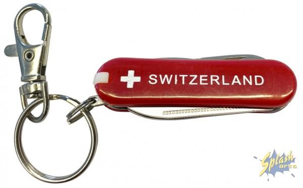 Pocket-knife Switzerland red