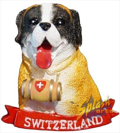 Swiss St.Bernard dog magnet