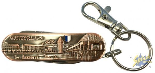 Sackmesser Luzern bronze klein