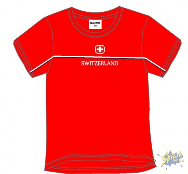 Kids Switzerland red -12Y