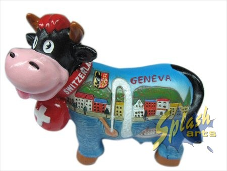 Funny cow of Geneva