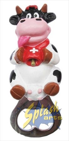 Swiss cow opener