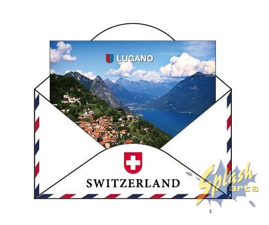 Lugano Kuvert Magnet
