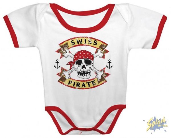 Swiss Piraten blanc 12 mois