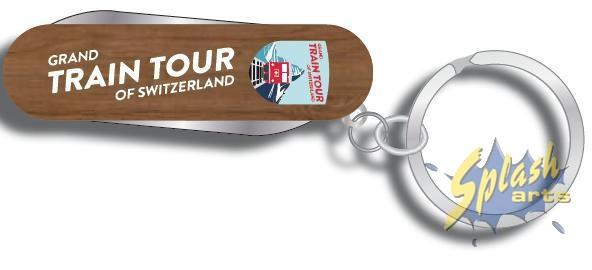 Petit couteau de poche bois Grand Train Tour